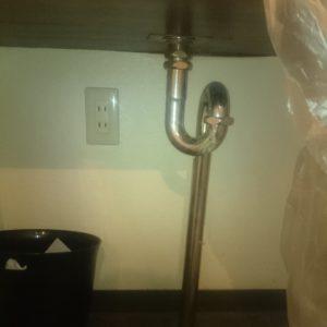 給水管漏水修繕工事