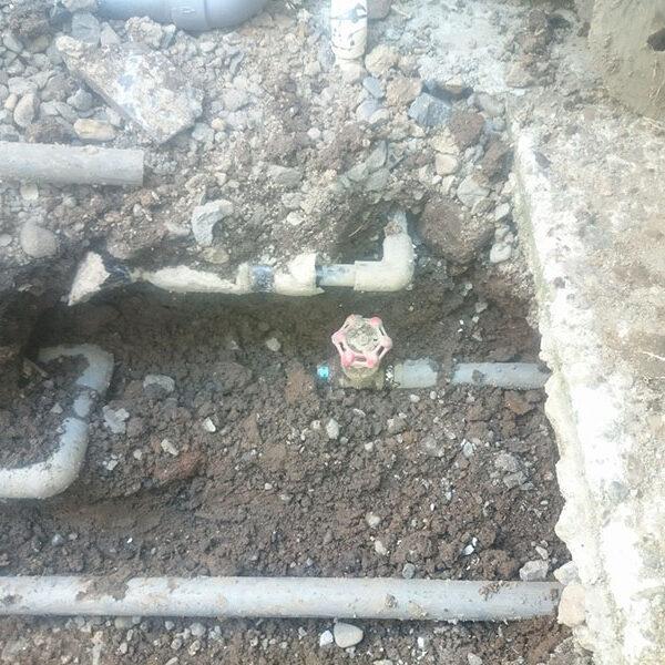 7 既設共用井戸配管及び既設水道配管