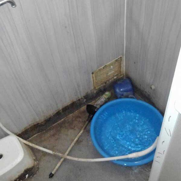 8 作業後 浴室