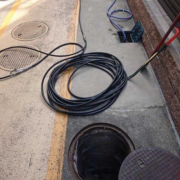 2 準備作業 高圧洗浄機