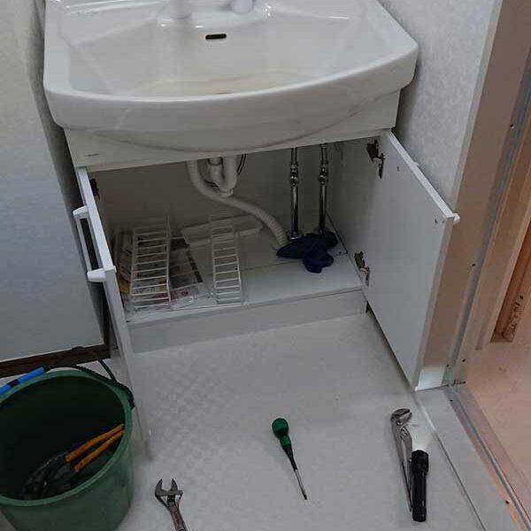 2 洗面台シャワー水栓水量