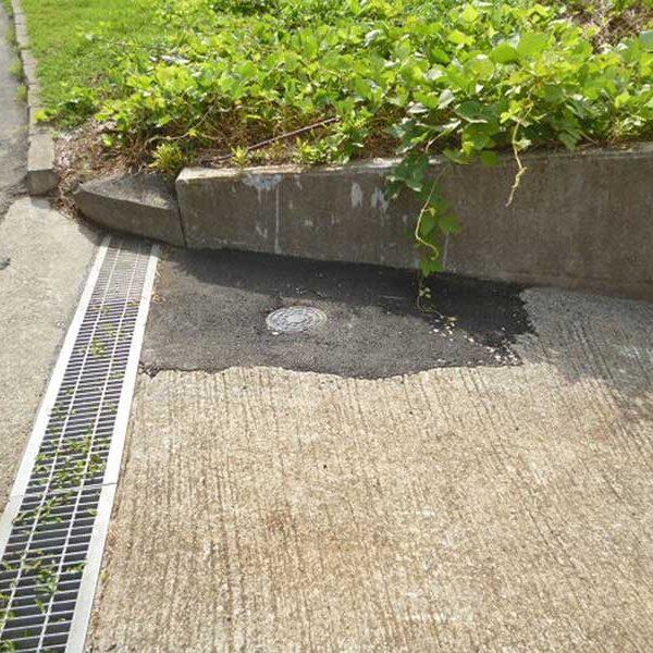 2 公共汚水桝設置後