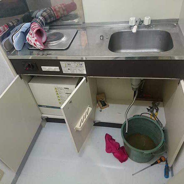 1 給水管からの吐水確認