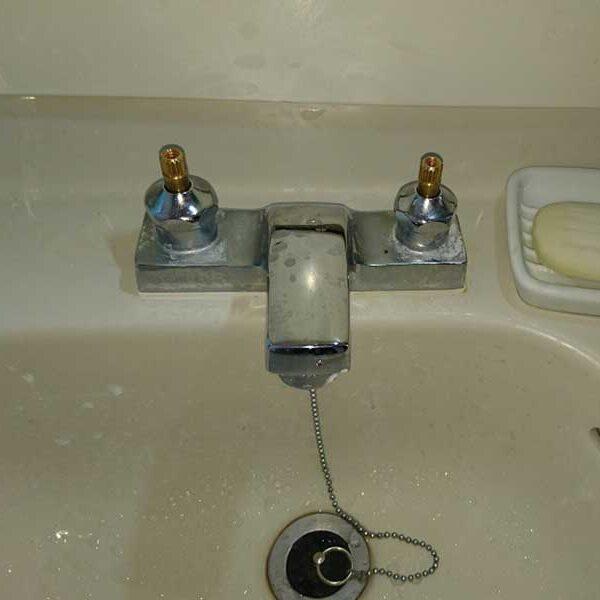 5 洗面台 交換前