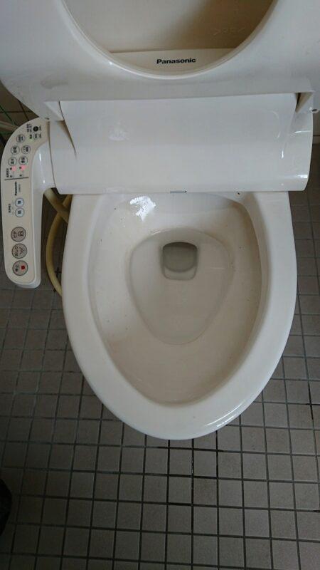 3 トイレの詰り改善後