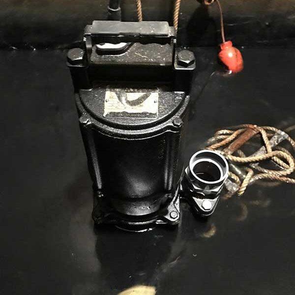 5 水中ポンプ設置