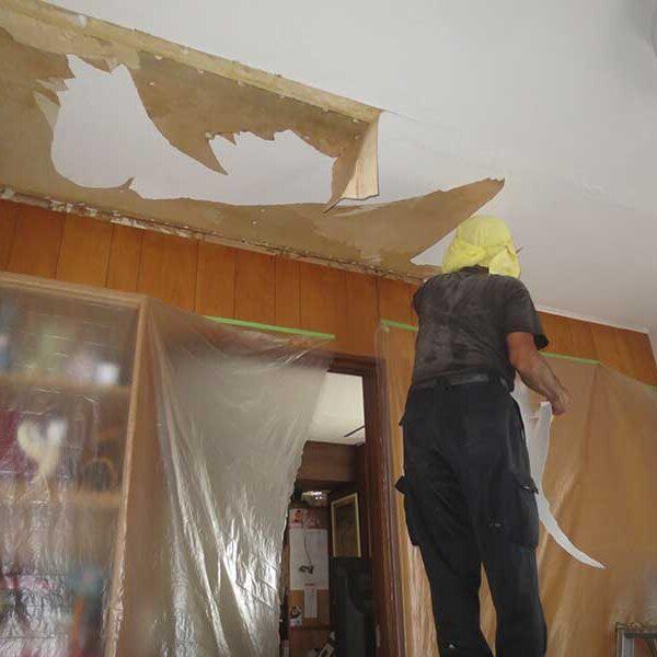 7 天井解体