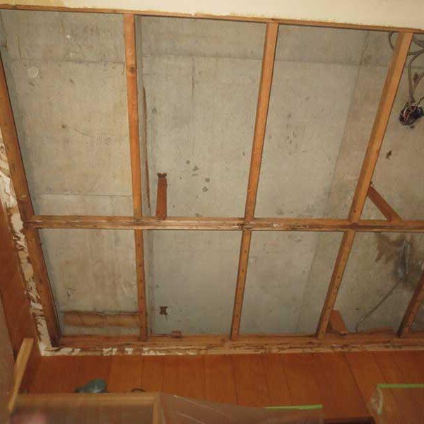 11 天井解体後