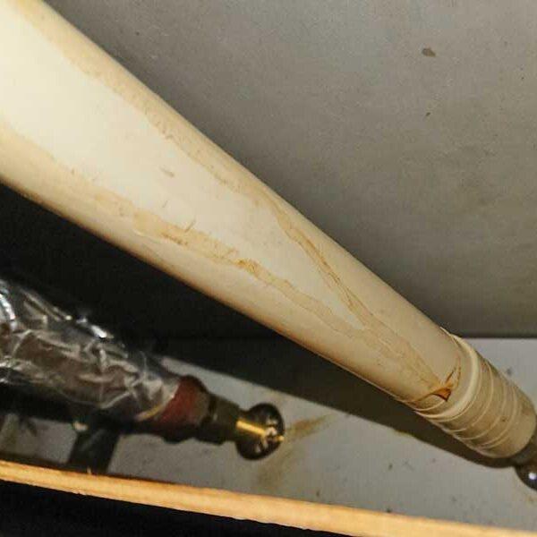 キッチン下、給水管及び給湯管の状態