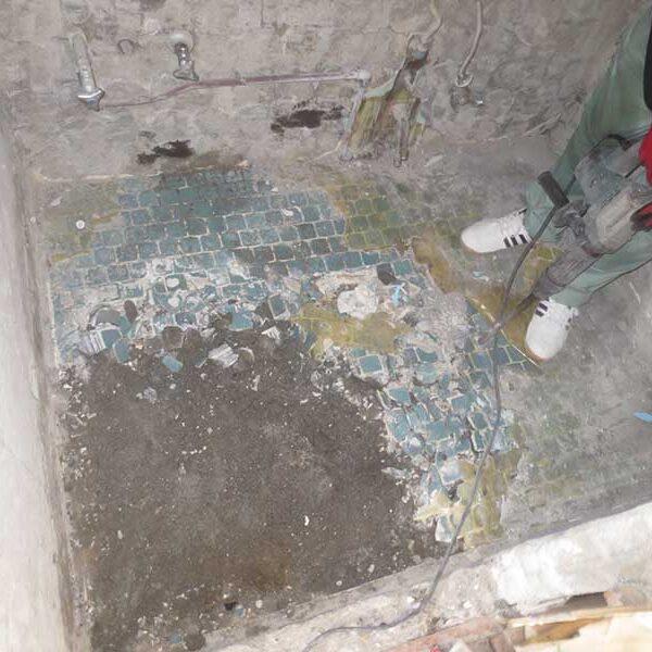 3 浴室解体