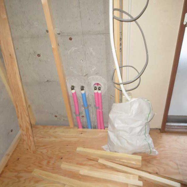 4 ポリ管による配管工