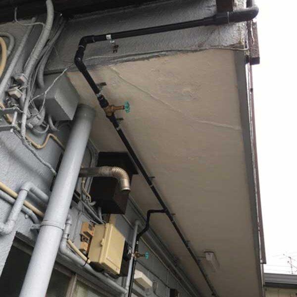 1 マンション全戸既設配管交換工事による配管