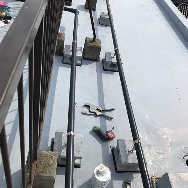 2 新設配管工(屋上)