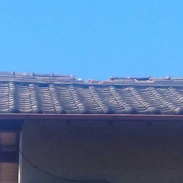 2 台風により瓦屋根破損状況