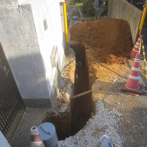 2 掘削及び配管工