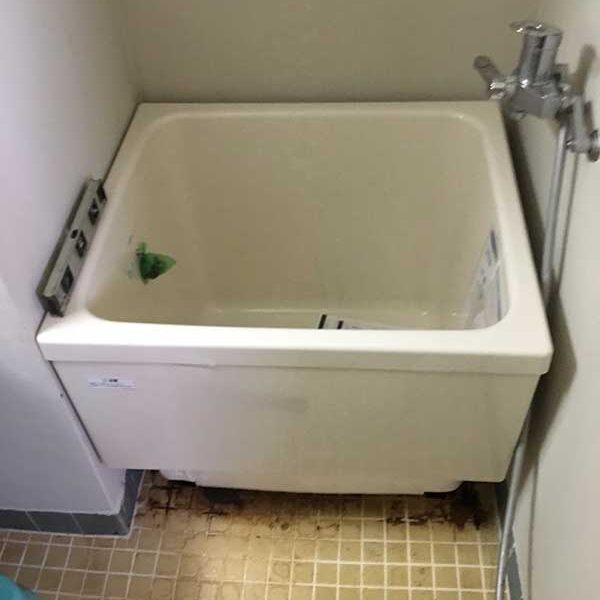 3 浴槽取付後