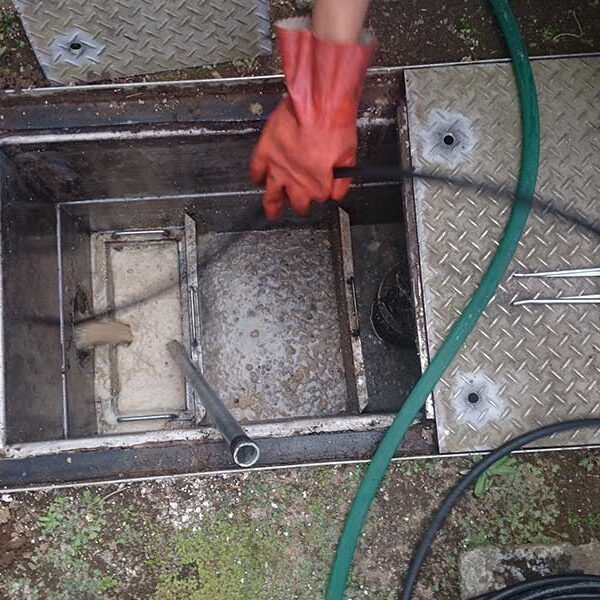 6 横引き配管洗浄
