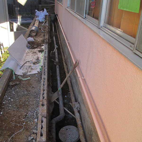 3、コンクリート解体及び掘削後