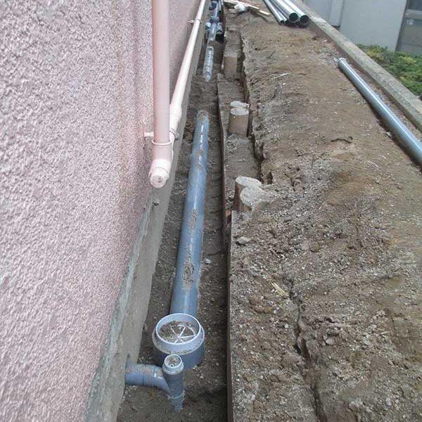 5、下水配管敷設工