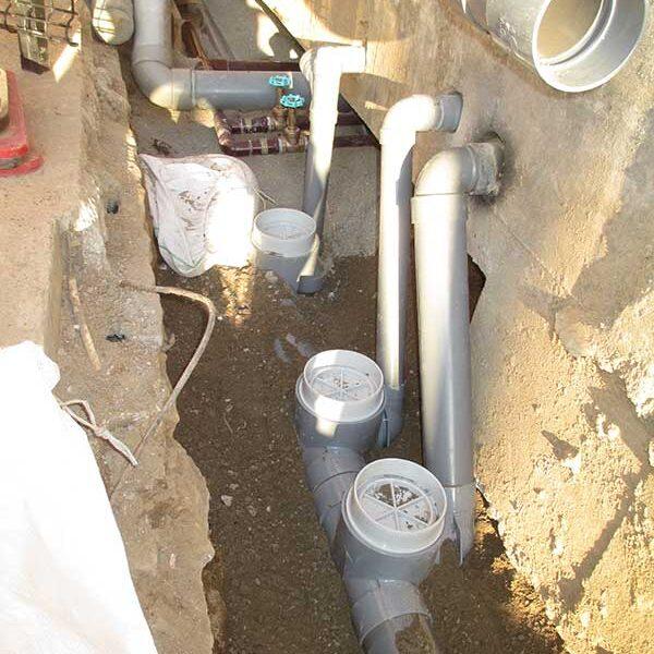 6、下水配管敷設工