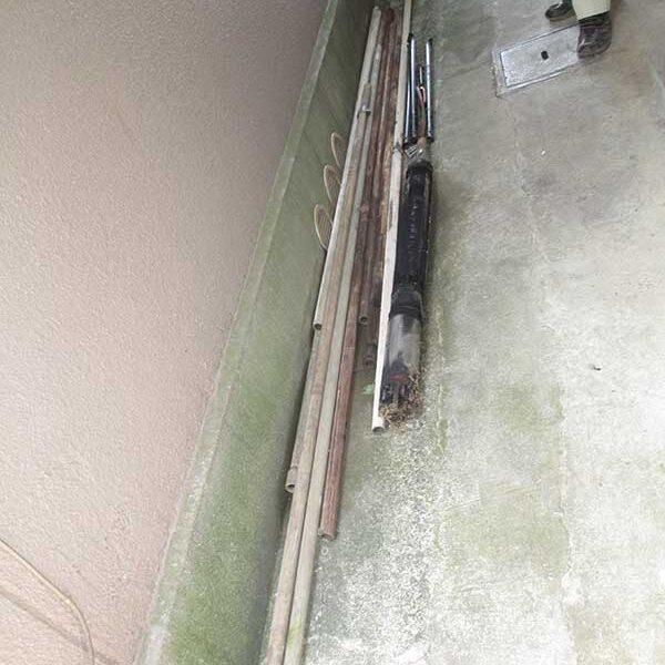 4 引抜き後配管、水中ジェットポンプ