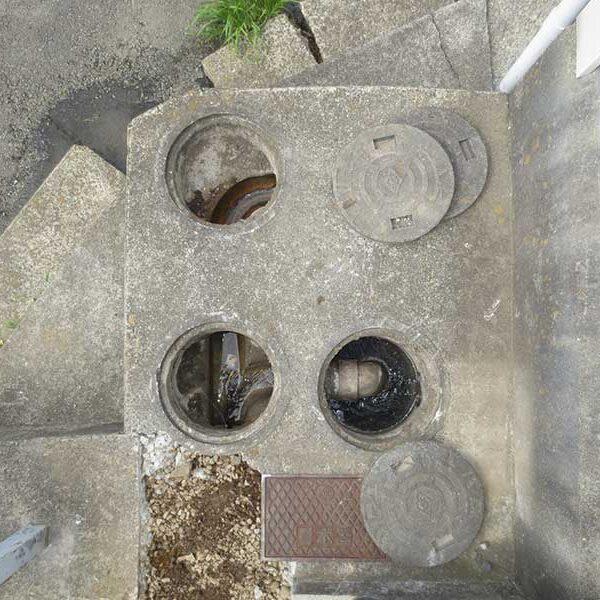 11 排水桝内の状況