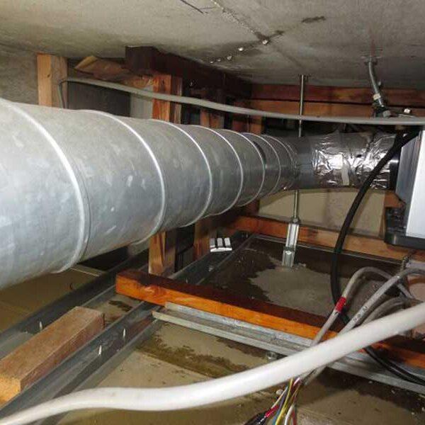 1 天井裏漏水被害