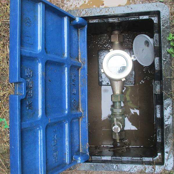6、水道メーター取付