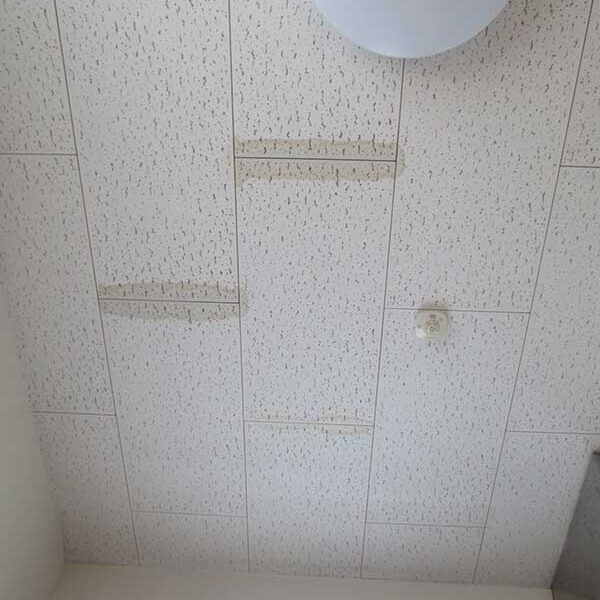 1 漏水による天井被害状況
