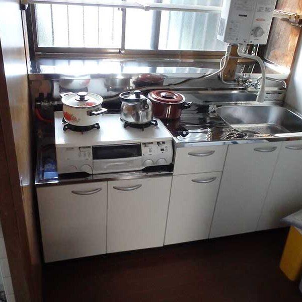 14 キッチン取付施工後