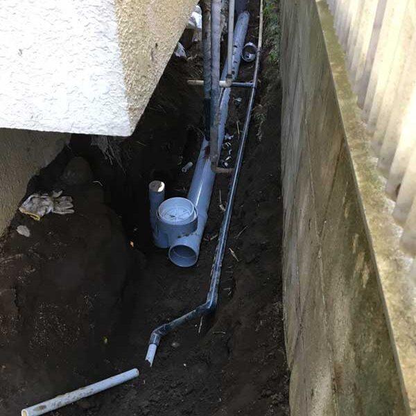 8 新設配管(台所排水管)