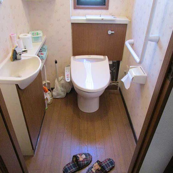 1 トイレ交換工事前