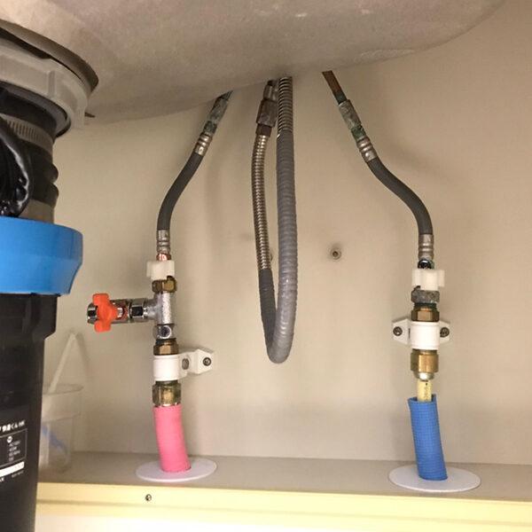 2 既存給水給湯管の状態