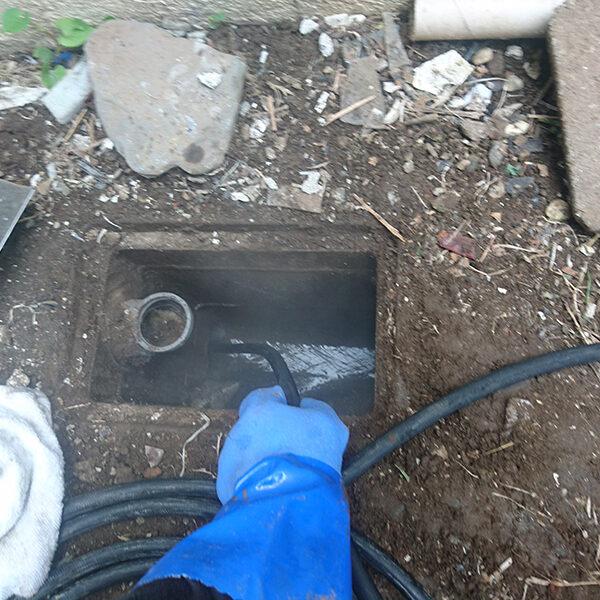 13 排水管清掃 流し・洗濯機・トイレの排水管側