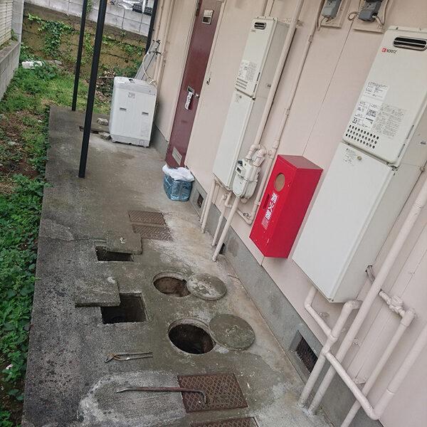 1 汚水桝 施工前