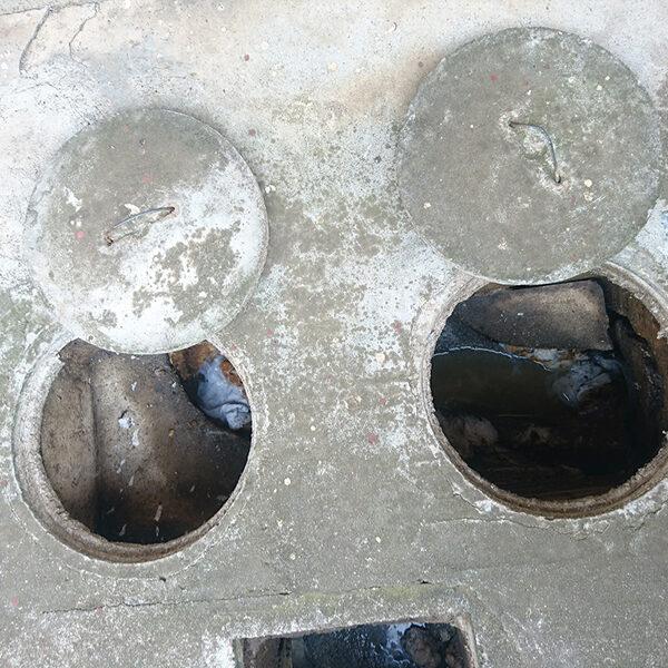 2 汚水桝 施工前