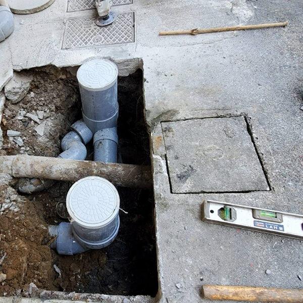 5 汚水桝 排水管施工後